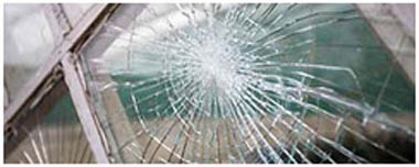 Didcot Smashed Glass